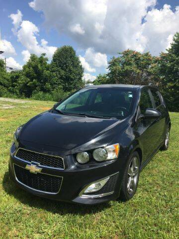 2013 Chevrolet Sonic for sale at Appalachian Auto Brokers, LLC in Johnson City TN