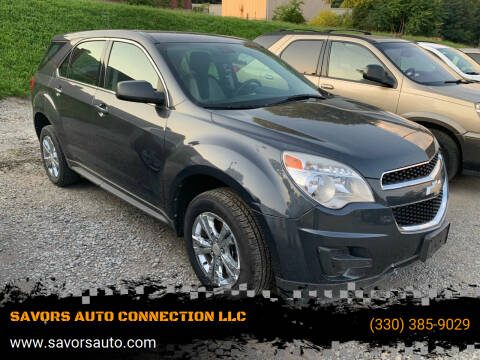 2011 Chevrolet Equinox for sale at SAVORS AUTO CONNECTION LLC in East Liverpool OH