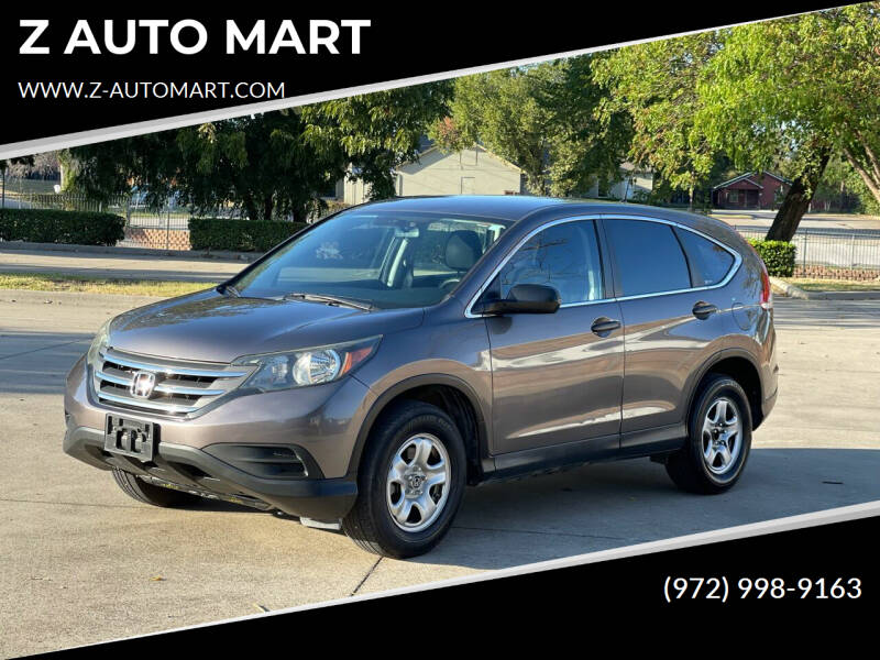 2012 Honda CR-V for sale at Z AUTO MART in Lewisville TX