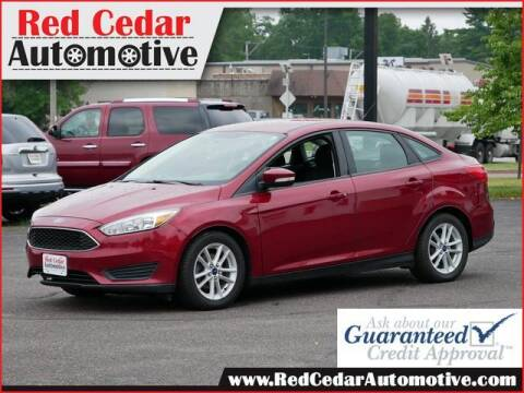 2015 Ford Focus for sale at Red Cedar Automotive in Menomonie WI