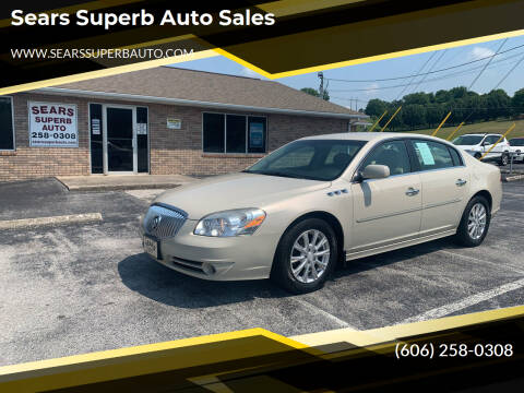 2011 Buick Lucerne for sale at Sears Superb Auto Sales in Corbin KY