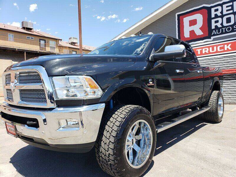 2018 RAM Ram Pickup 2500 for sale at Red Rock Auto Sales in Saint George UT