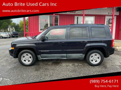 2011 Jeep Patriot for sale at Auto Brite Used Cars Inc in Saginaw MI