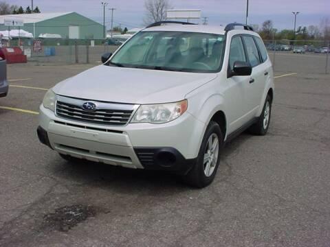 2010 Subaru Forester for sale at VOA Auto Sales in Pontiac MI