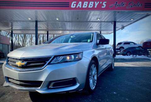 2014 Chevrolet Impala for sale at GABBY'S AUTO SALES in Valparaiso IN