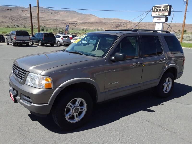 2002 Ford Explorer for sale at Super Sport Motors LLC in Carson City NV
