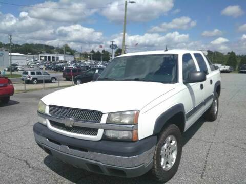 2004 Chevrolet Avalanche for sale at Hillside Motors Inc. in Hickory NC