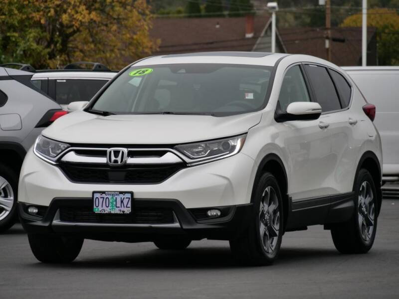 2018 Honda CR-V for sale at CLINT NEWELL USED CARS in Roseburg OR