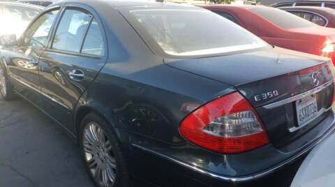 2007 Mercedes-Benz E-Class for sale at MCHENRY AUTO SALES in Modesto CA