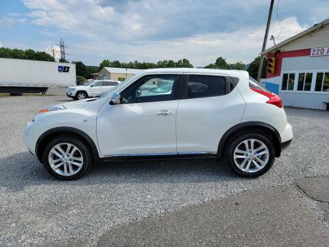 2013 Nissan JUKE for sale at 220 Auto Sales in Rocky Mount VA