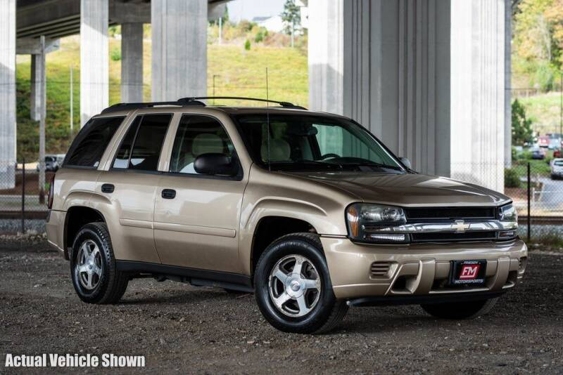 2006 Chevrolet TrailBlazer for sale at Friesen Motorsports in Tacoma WA