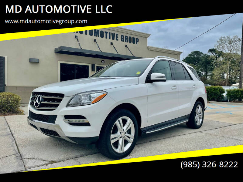 2015 Mercedes-Benz M-Class for sale at MD AUTOMOTIVE LLC in Slidell LA
