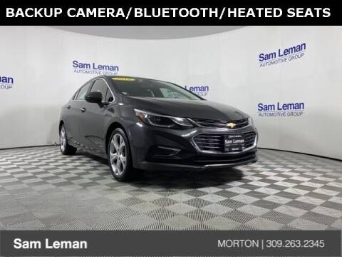 2016 Chevrolet Cruze for sale at Sam Leman CDJRF Morton in Morton IL