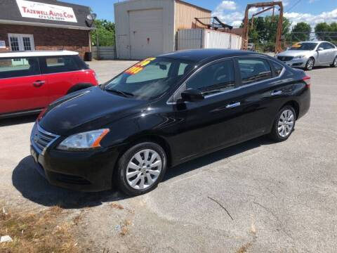 2013 Nissan Sentra for sale at tazewellauto.com in Tazewell TN