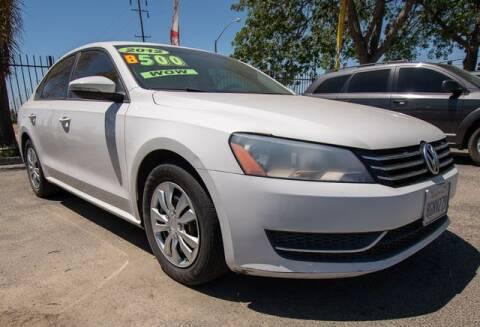 2012 Volkswagen Passat for sale at GQC AUTO SALES in San Bernardino CA