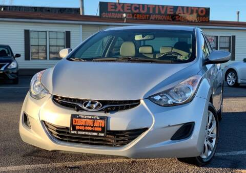 2012 Hyundai Elantra for sale at Executive Auto in Winchester VA