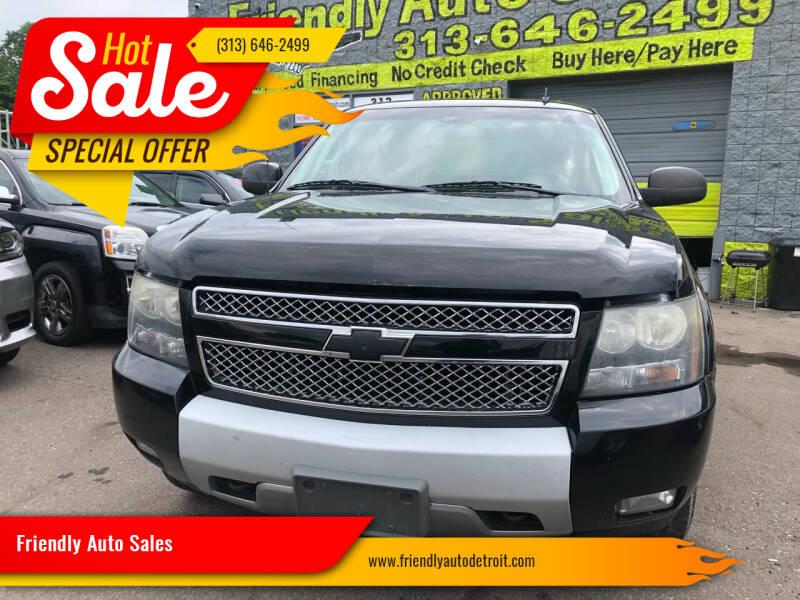 2009 Chevrolet Avalanche for sale at Friendly Auto Sales in Detroit MI