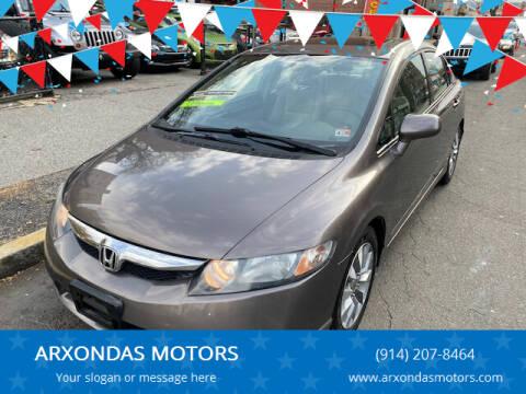 2009 Honda Civic for sale at ARXONDAS MOTORS in Yonkers NY