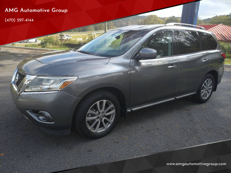 2016 Nissan Pathfinder for sale at AMG Automotive Group in Cumming GA