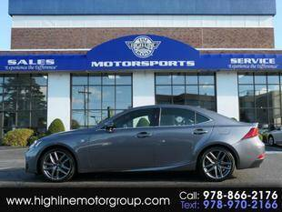 2020 Lexus IS 350 for sale at Highline Group Motorsports in Lowell MA