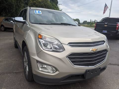 2016 Chevrolet Equinox for sale at GREAT DEALS ON WHEELS in Michigan City IN
