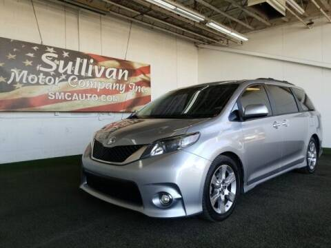 2013 Toyota Sienna for sale at SULLIVAN MOTOR COMPANY INC. in Mesa AZ