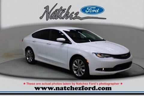2015 Chrysler 200 for sale at Auto Group South - Natchez Ford Lincoln in Natchez MS