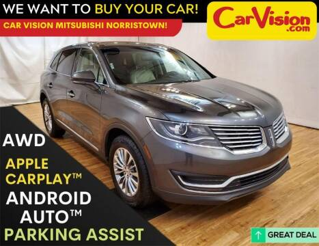 2018 Lincoln MKX for sale at Car Vision Mitsubishi Norristown in Trooper PA