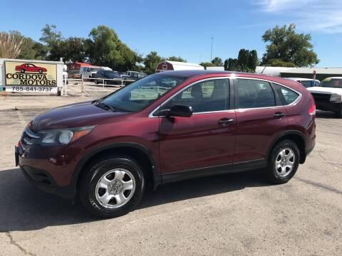 2013 Honda CR-V for sale at Cordova Motors in Lawrence KS