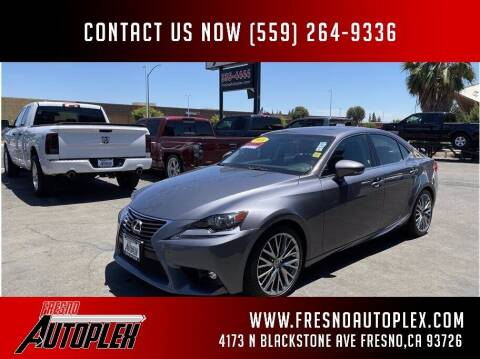 2016 Lexus IS 200t for sale at Carros Usados Fresno in Fresno CA