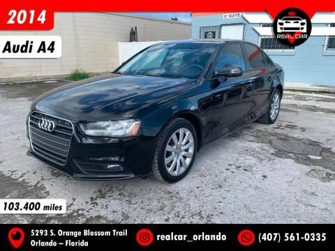 2014 Audi A4 for sale at Real Car Sales in Orlando FL