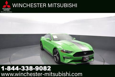 2019 Ford Mustang for sale at Winchester Mitsubishi in Winchester VA