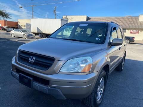 2004 Honda Pilot for sale at Dynasty Auto in Dallas TX
