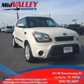 2013 Kia Soul for sale at Mid Valley Motors in La Feria TX
