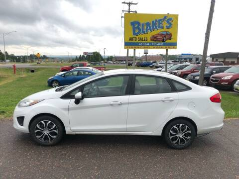 2013 Ford Fiesta for sale at Blake's Auto Sales in Rice Lake WI