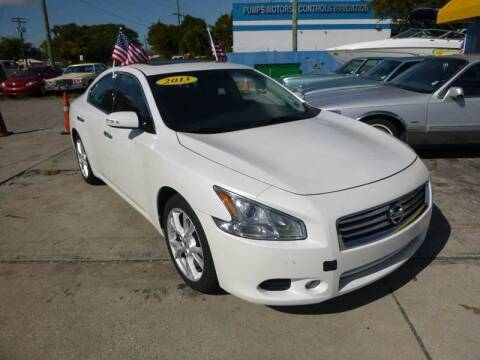2013 Nissan Maxima for sale at Car Mart Leasing & Sales in Hollywood FL