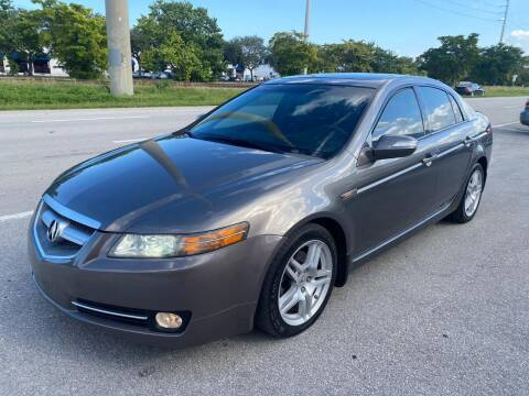 2008 Acura TL for sale at UNITED AUTO BROKERS in Hollywood FL