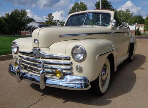 1947 Ford Super Deluxe for sale at WEST PORT AUTO CENTER INC in Fenton MO