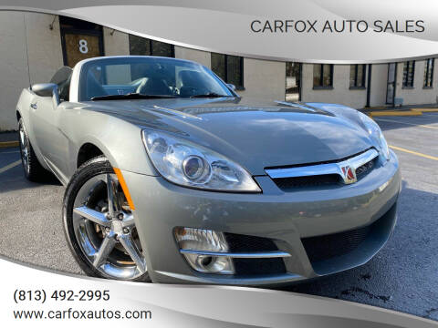 2007 Saturn SKY for sale at Carfox Auto Sales in Tampa FL