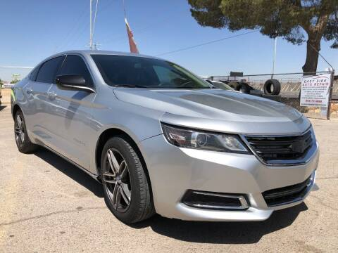 2017 Chevrolet Impala for sale at Eastside Auto Sales in El Paso TX