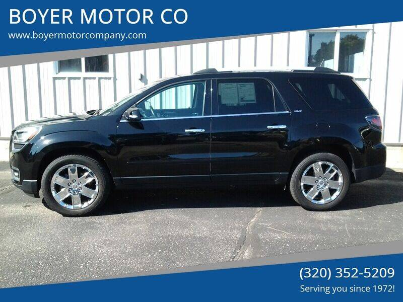 2017 GMC Acadia Limited for sale at BOYER MOTOR CO in Sauk Centre MN