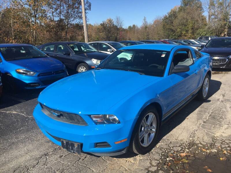 2010 Ford Mustang for sale at Best Buy Auto Sales in Murphysboro IL