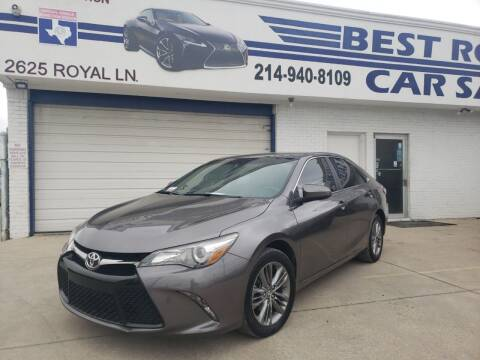 2017 Toyota Camry for sale at Best Royal Car Sales in Dallas TX