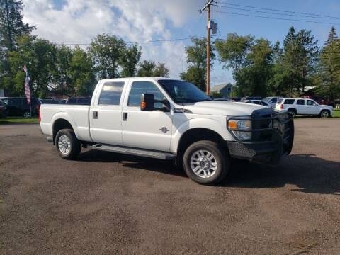 2015 Ford F-250 Super Duty for sale at WB Auto Sales LLC in Barnum MN