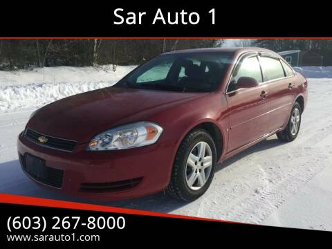 2007 Chevrolet Impala for sale at Sar Auto 1 in Belmont NH
