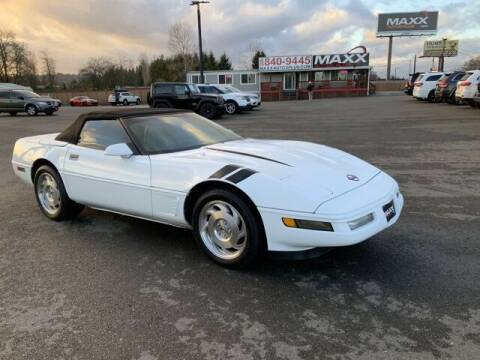 1996 Chevrolet Corvette for sale at Maxx Autos Plus in Puyallup WA