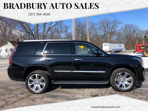 2016 Cadillac Escalade for sale at BRADBURY AUTO SALES in Gibson City IL