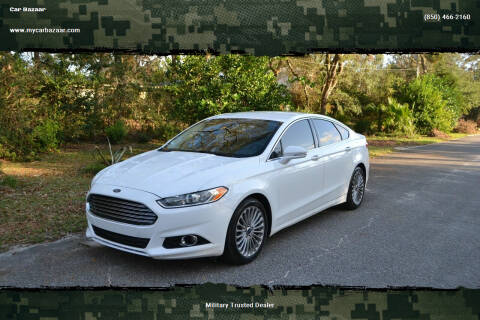 2016 Ford Fusion for sale at Car Bazaar in Pensacola FL