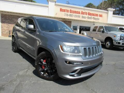 2012 Jeep Grand Cherokee for sale at North Georgia Auto Brokers in Snellville GA