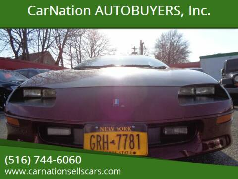 1995 Chevrolet Camaro for sale at CarNation AUTOBUYERS, Inc. in Rockville Centre NY